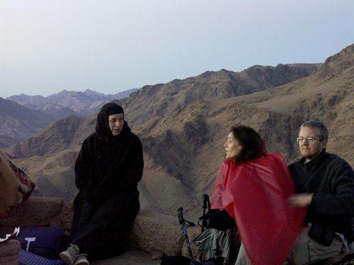 En Egypte au Mont Sinaï