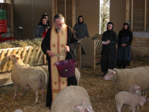 Bénédiction de la bergerie