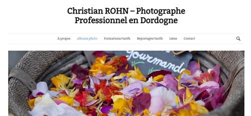 Christian ROHN, photographe en Dordogne