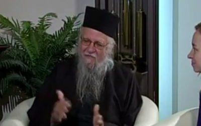 Interview de Père Elie à Ekaterinburg (Russie)
