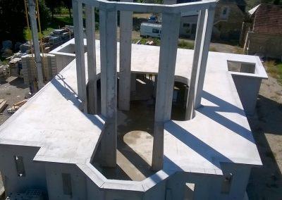 Vue détaillée des huit piliers