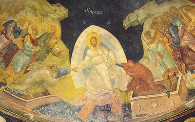 Fresque de la résurrection