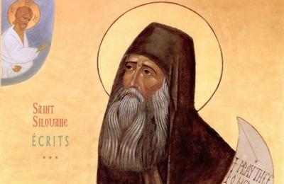 Icône de Saint Silouane de l'Athos
