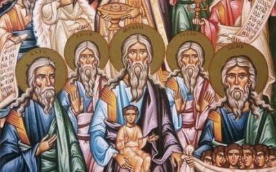 L'exemple des Saints Ancêtres du Christ