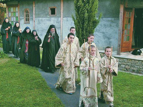 Procession le jour Pâques