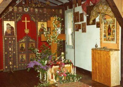 Intérieur de l'église de Murel