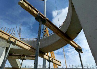 Construction ossature du dôme
