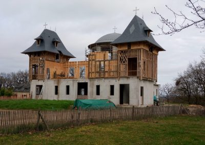 La façade avant du nouveau catholicon