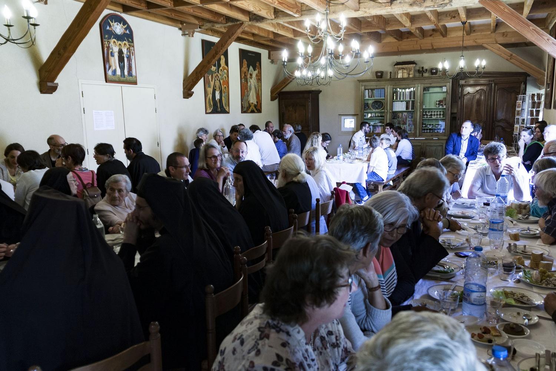 Célébration 40 ans du monastère de la Transfiguration