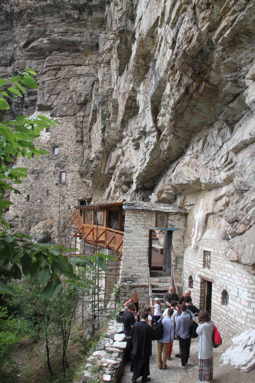 A l'ermitage de Saint sava