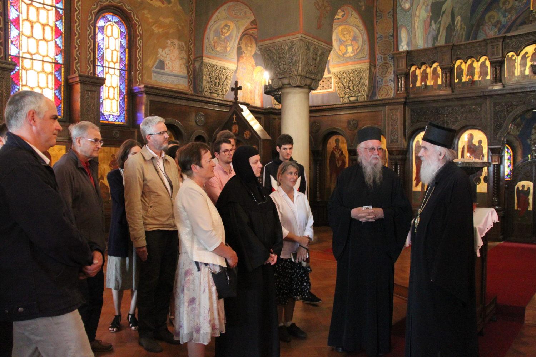 Avec le Patriarche Irénée