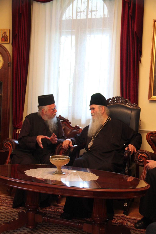 Avec Monseigneur Amphiloque