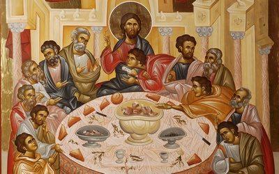 Pour le Grand Jeudi, homélie sur l'institution de l'Eucharistie