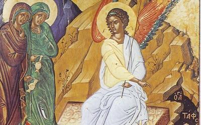 Les femmes myrophores au tombeau du Christ