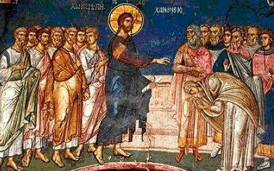 Sur l'ange gardien et sur l'évangile de la femme courbée