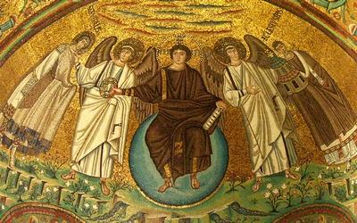 Christ en gloire. Basilique San Vitale