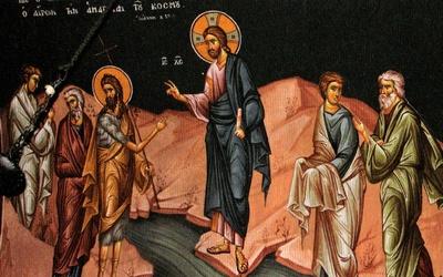 Le baptême de Saint Jean Baptiste