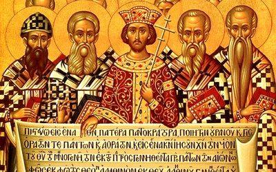 Homélie sur l'évangile du dimanche des Saints Pères du premier concile