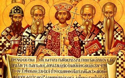 Icône des Saints Père du 1° concile de Nicée